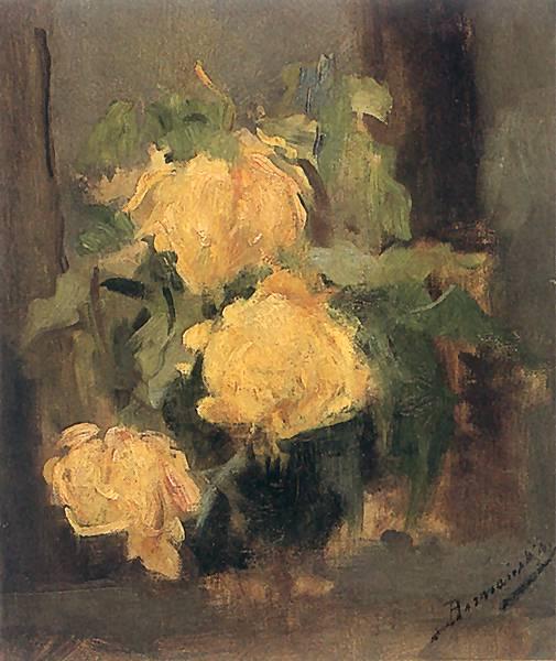 Olga Boznańska - Złote róże