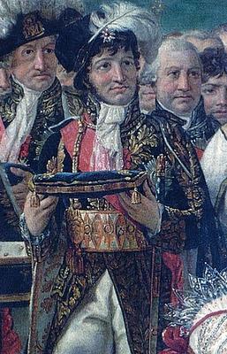 J. - L. David - Koronacja Napoleona (fragment)