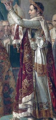 J.- L. David - Koronacja Napoleona (fragment)