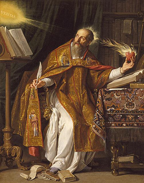 Philippe de Chapaigne - Augustyn z Hippony
