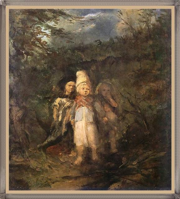 Aleksander Kotsis - Dzieci w lesie