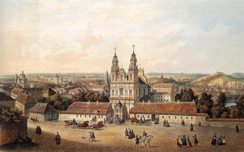 Zygmunt Vogel - Wilno, Kościół Misjonarzy