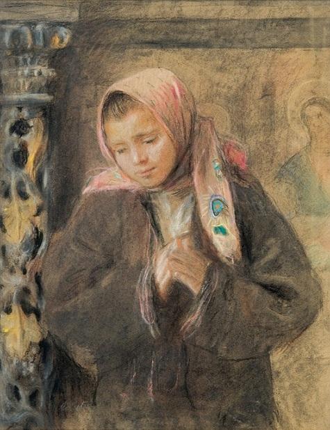 Teodor Axentowicz - Modlitwa
