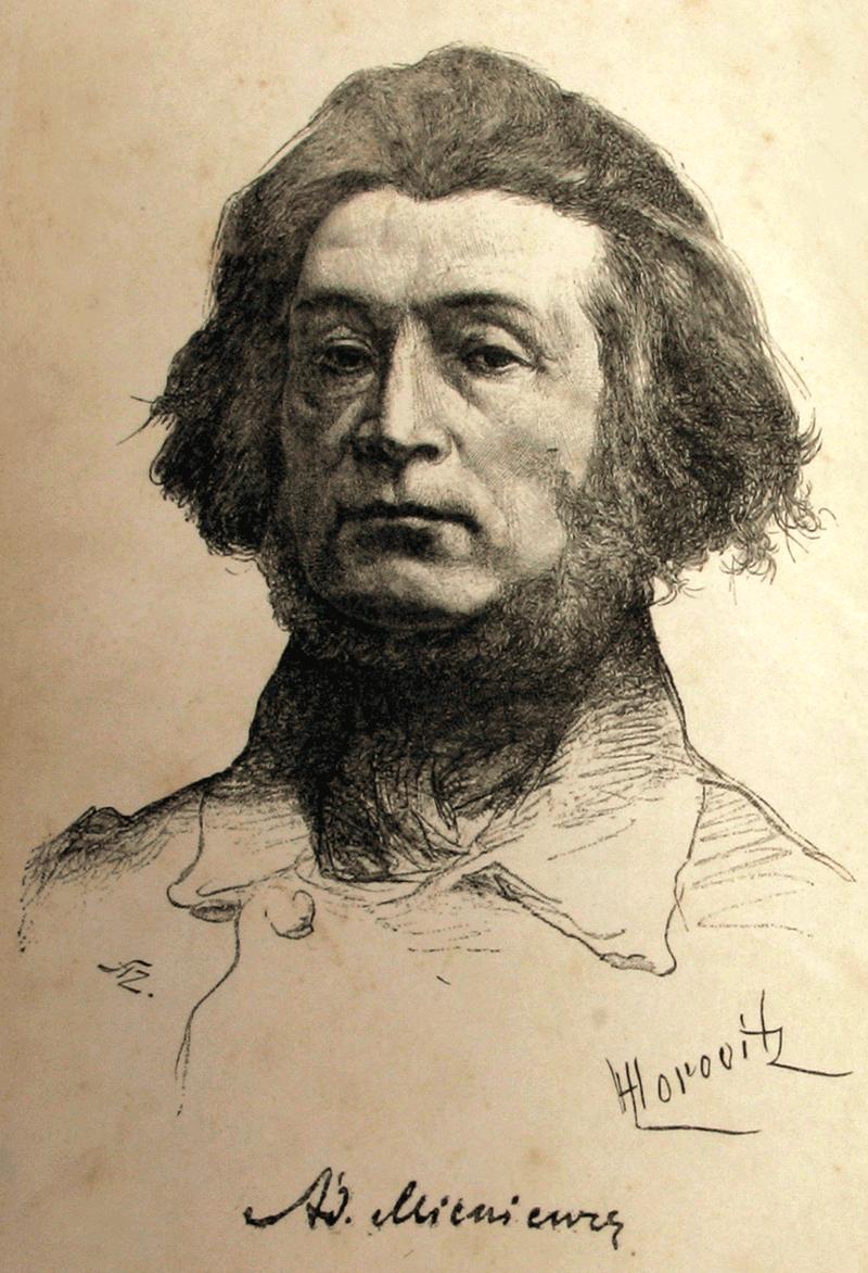 Adam Mickiewicz, lata 40. XIX wieku