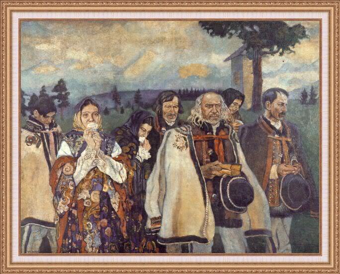 Władysław Jarocki - Powrót z Golgoty w Wielki Piątek