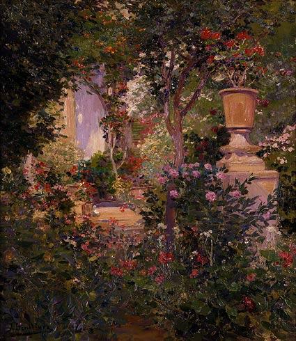 Jose Benlliure - Ogród rodziny Benlliure