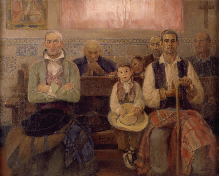 Jose Benlliure - Msza w kaplicy