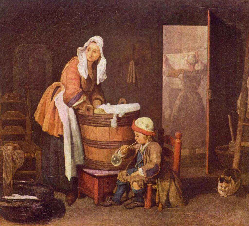 Jean - Simeon Chardin - Praczka