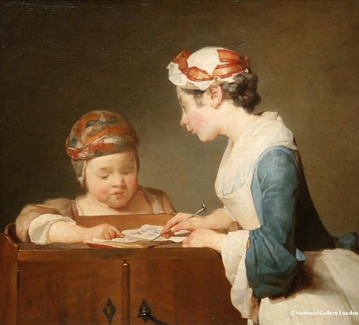 Jean-Simeon Chardin - Młoda nauczycielka