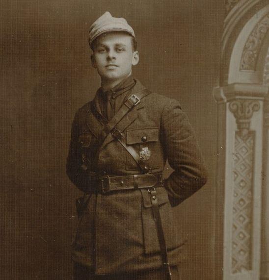Witold Pilecki, lata gimnazjalne