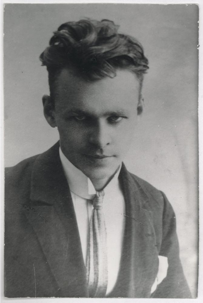 Witold Pilecki, lata 20. XX w., Wilno