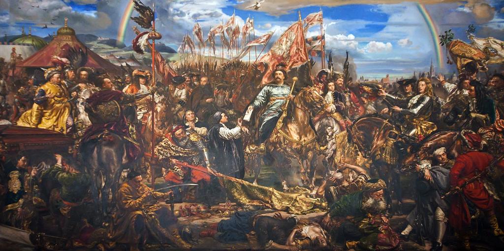 Jan Matejko - Sobieski pod Wiedniem
