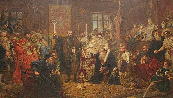Jan Matejko - Unia Lubelska