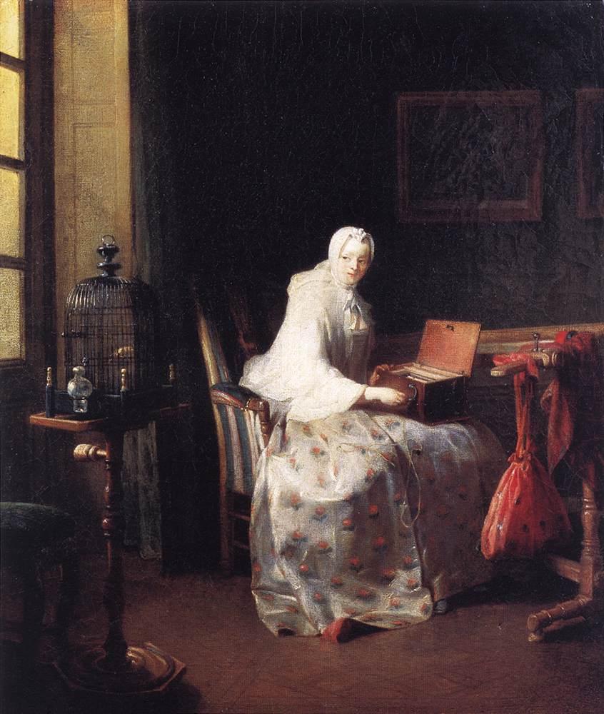 0000The Canary Jean Baptiste Simeon Chardin