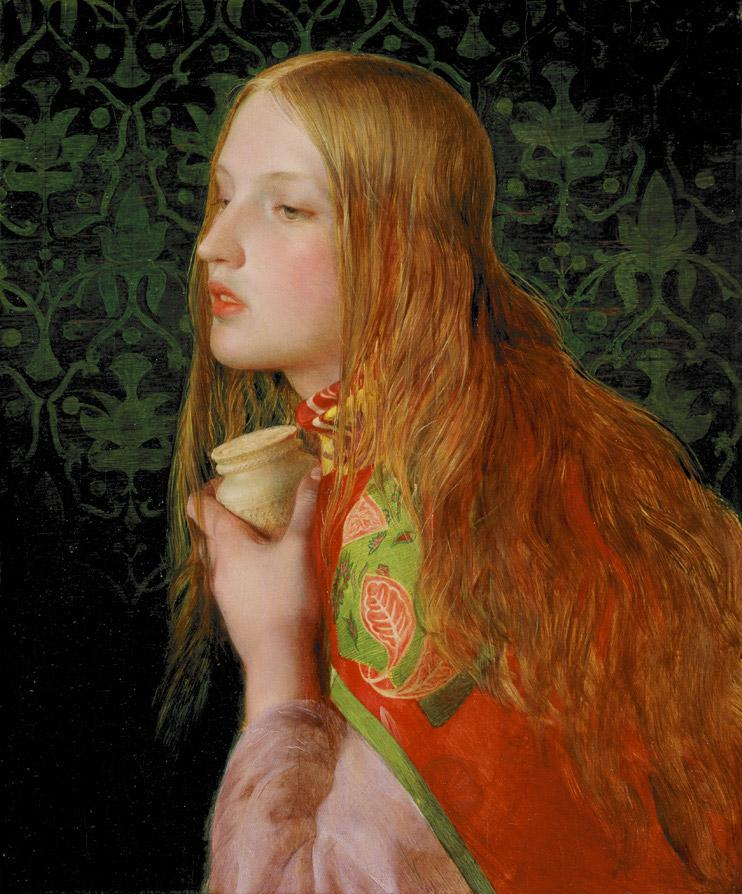Frederick Sandys - Maria Magdalena 1860