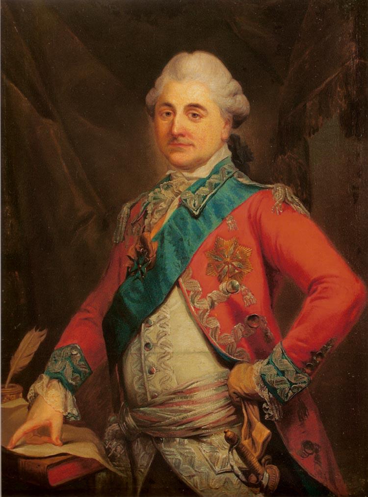 Bacciarelli - Portret Stanisława Augusta Poniatowskiego
