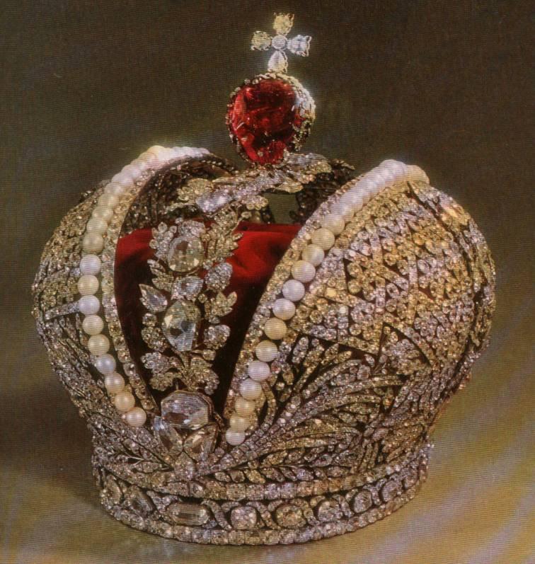 Korona imperatorska, tzw. wielka, z 1762 roku.