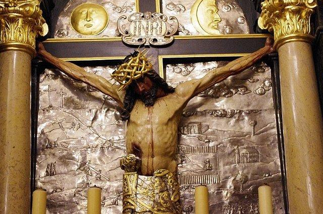 Krucyfiks w Kaplicy Cudownego Obrazu, Jasna Jóra