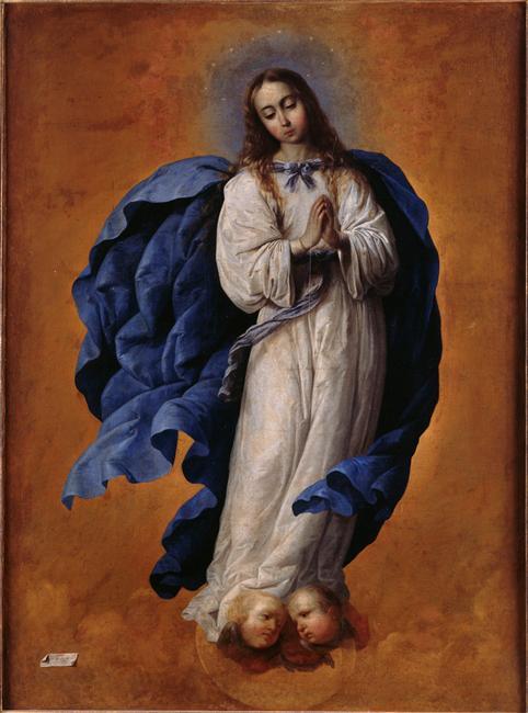 Francisco de Zurbaran - Niepokalane Poczęcie