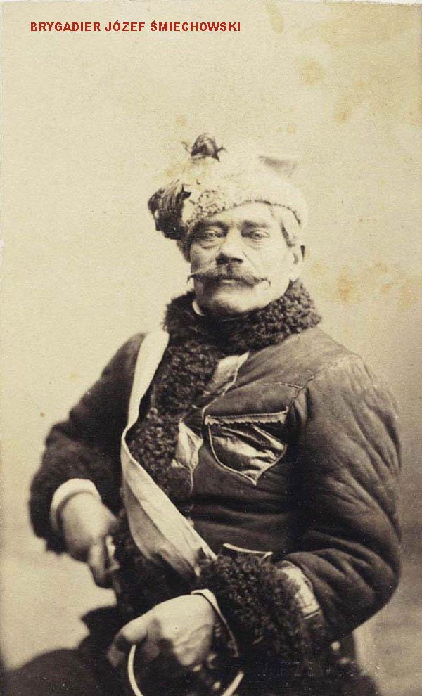 Józef Śmiechowski - jeden z dowódców powstania styczniowego w powiecie rawskim