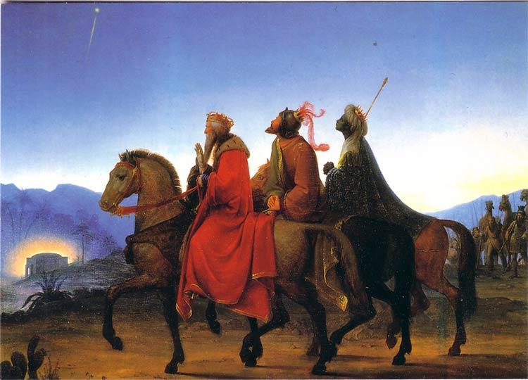 Leopold Kupelwieser: Trzej Królowie