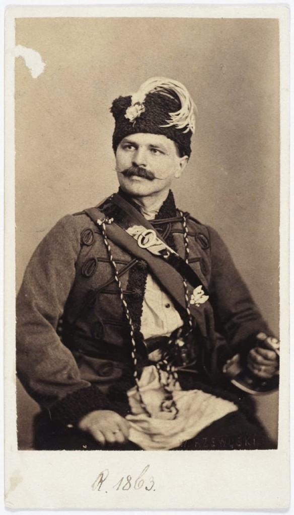 Portret Bronisława Ryxa, powstańca styczniowego (fot. Walery Rzewuski)