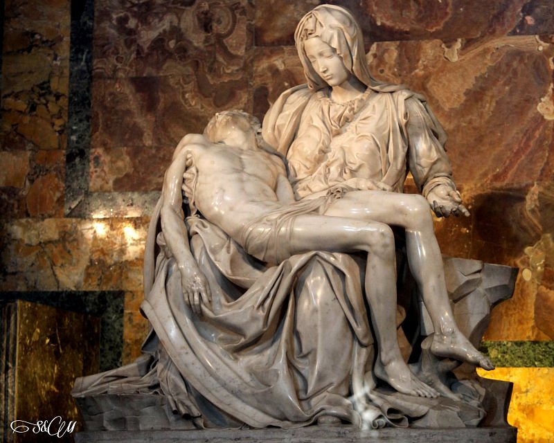 Michał Anioł - Pieta w Bazylice Św. Piotra
