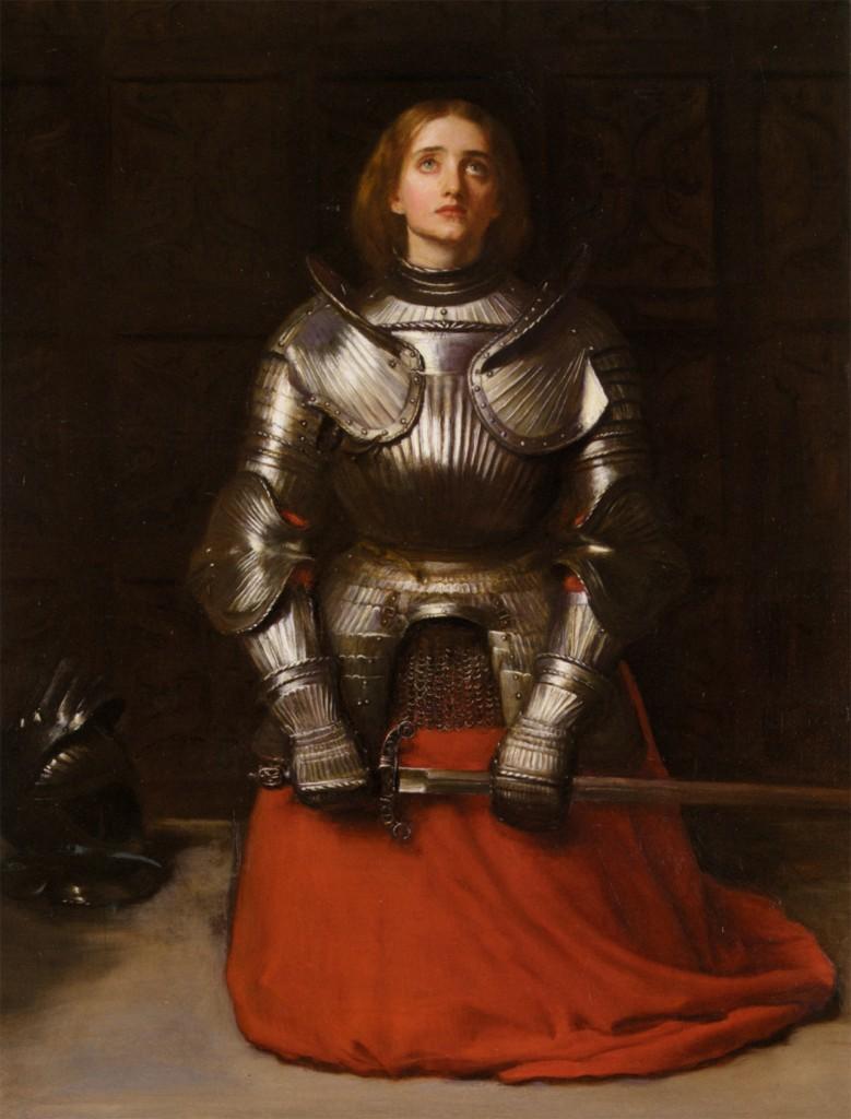 John Everret-Millais - Joanna D`Arc