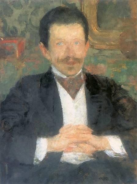 Olga Boznańska - Portret Wojciecha Gieleckiego