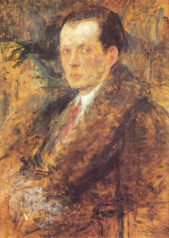 Olga Boznańska - Portret mężczyzny