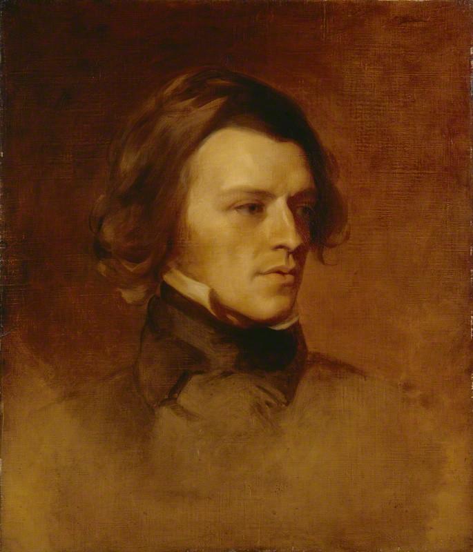 Alfred Tennyson w latach młodości - National Portrait Gallery, London