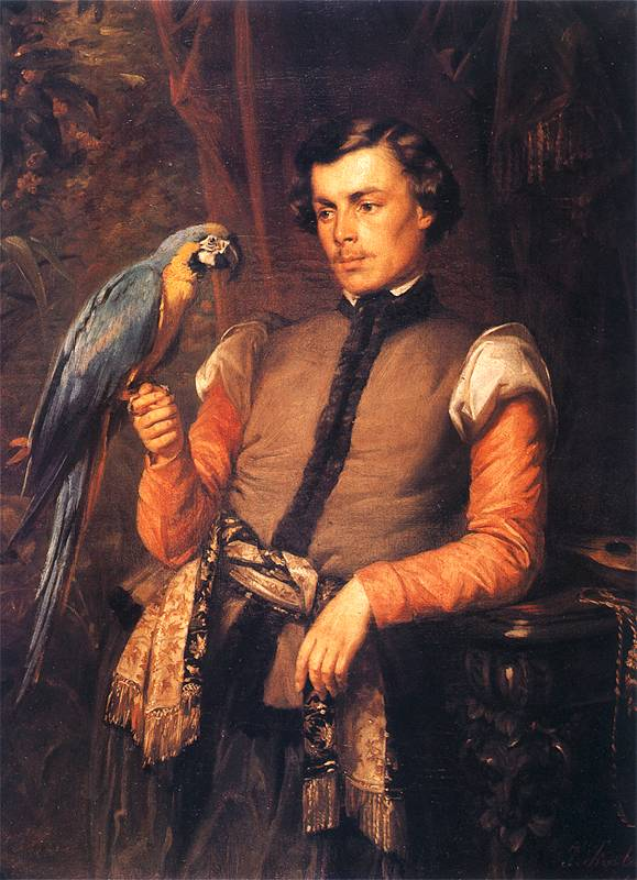 Józef Simmler - Szlachcic z papugą