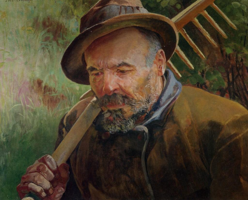 Leon Wyczółkowski - Powrót z pola
