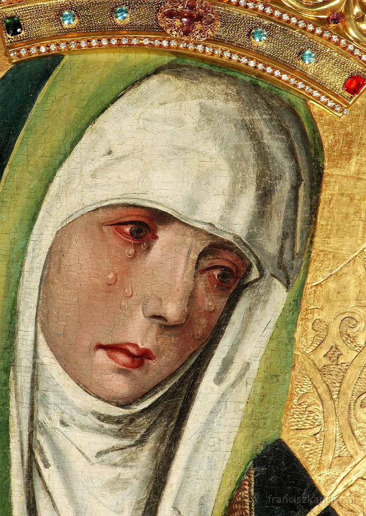 Matka Boska Bolesna z Kościoła Ojców Franciszkanów w Krakowie