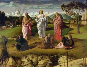 Giovanni Bellini - Przemienienie Pańskie