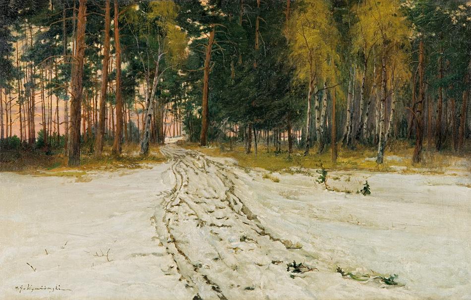 Michał Wiewiórski - Droga pod lasem