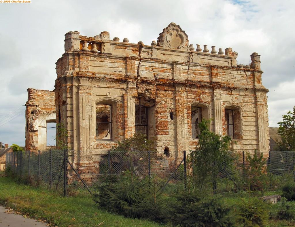 Pałac Szeptyckich w Łaszczowie, stan dzisiejszy