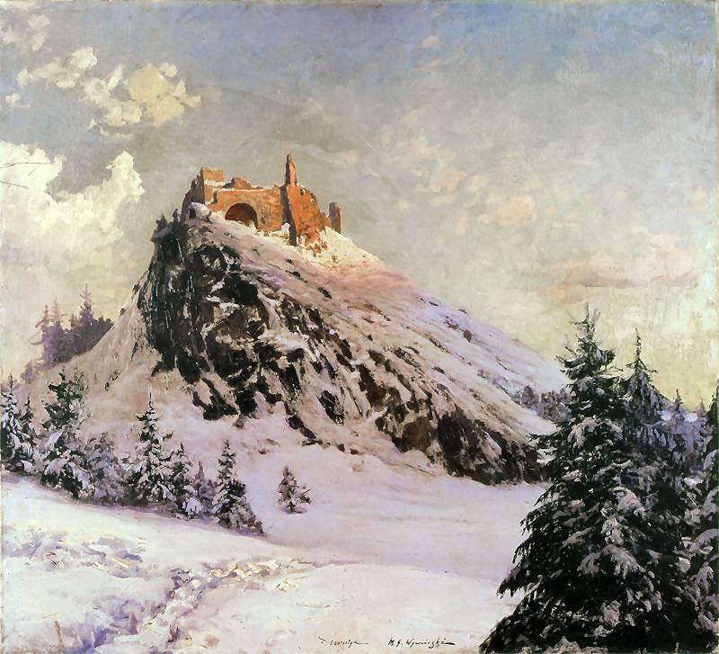 Micgał Wiewiórski - Ruiny zamku w Czorsztynie