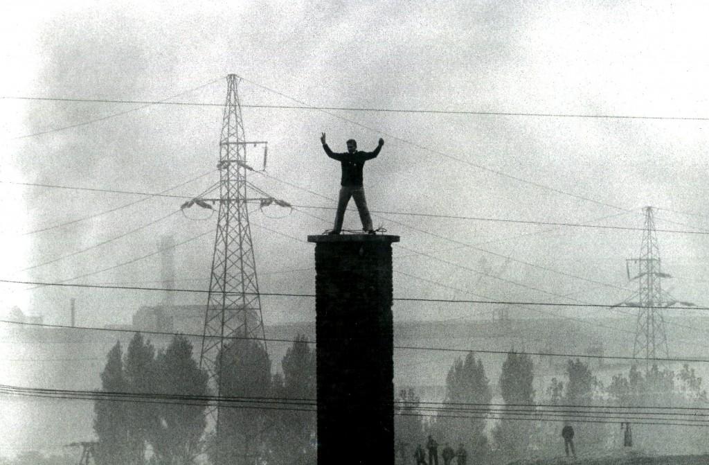 Nowa Huta 1982 - fot. Stanisław Markowski