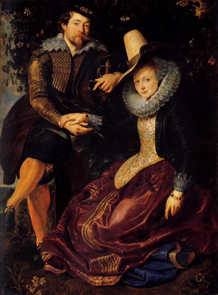 Autoportret Piotra Pawła Rubensa i Izabelli Brand, jego przyszłej żony