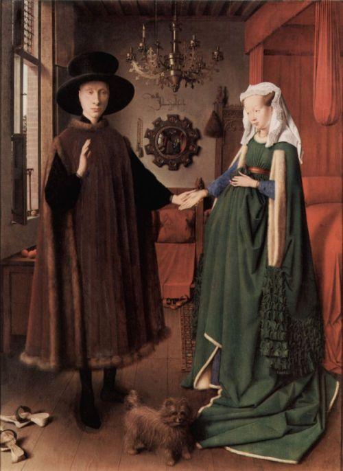 Jan van Eyck, Portret małzonkow Arnolfinich