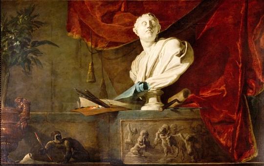 Jean-Baptiste Chardin - Atrybuty sztuki
