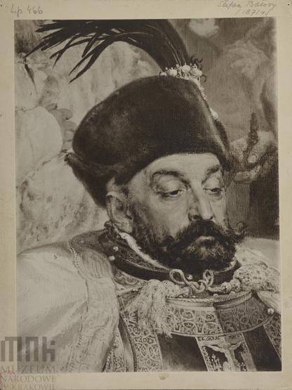 Jan Matejko - król Stefan Batory