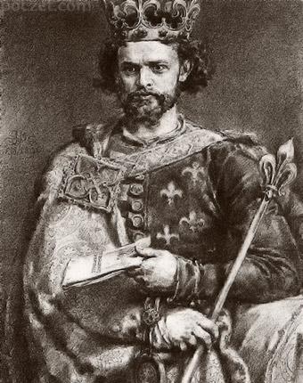 Jan Matejko - Ludwik Węgierski (Andegaweński)
