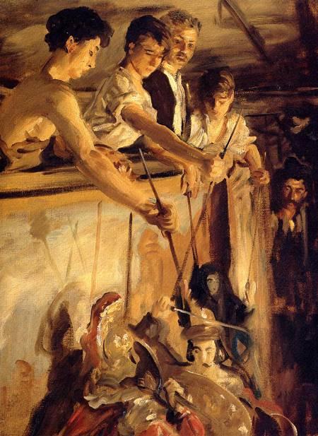 John Singer-Sargent, Marionetki