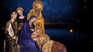 Adoracja Dzieciątka - Gentile da Fabriano