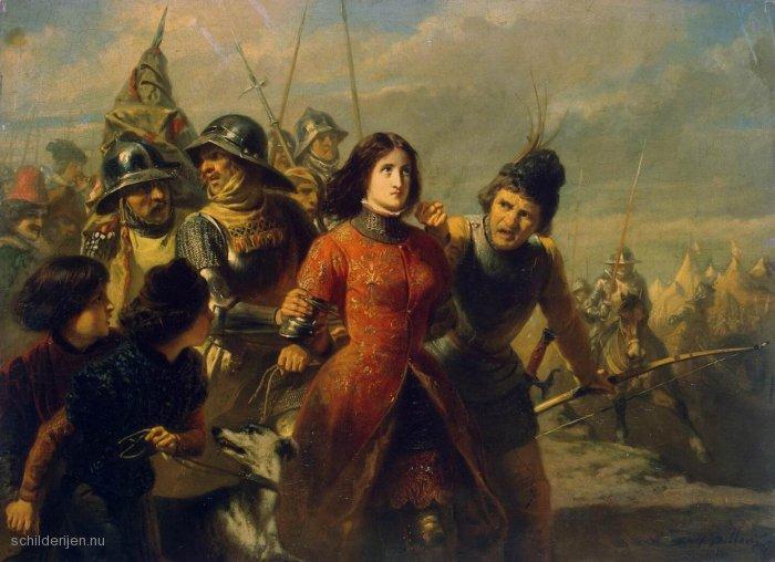 Adolphe - Alexander Dillens - Pojmanie Joanny d`Arc