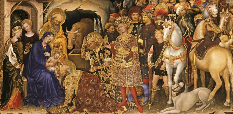 Gentile da Fabriano - Pokłon Trzech Króli