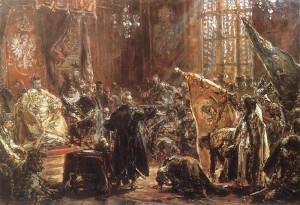 Jan Matejko - Hołd carów Szujskich