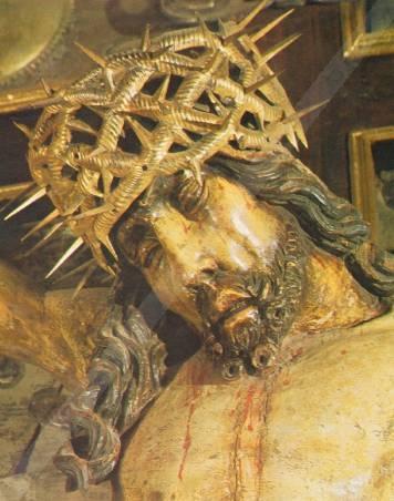 Cudowny Krucyfiks na Jasnej Górze - Wizerunek Pana Jezusa Konającego